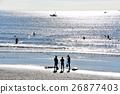 茅崎海岸閃亮的海 26877403