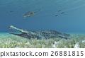 Sarcosuchus and Archelon 26881815