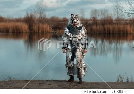 Man wolf, a werewolf. 26883519