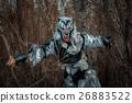 Werewolf in the forest. 26883522