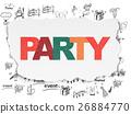 파티, 잔치, 연회 26884770