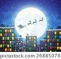 คริสต์มาส,คริสมาส,เวกเตอร์ 26885079