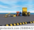 heavy machinery, computer graphic, computer graphics 26889422