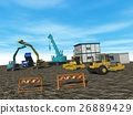 construction site, construction sites, heavy machinery 26889429