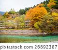 Fall  color of Japan Alps area at Kamikochi 26892387