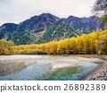 Fall  color of Japan Alps area at Kamikochi 26892389
