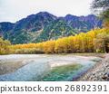 Fall  color of Japan Alps area at Kamikochi 26892391