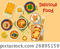 food cuisine vector 26895159