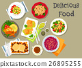 food cuisine vector 26895255