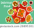 food dish vector 26895301