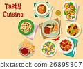 food, vector, cuisine 26895307