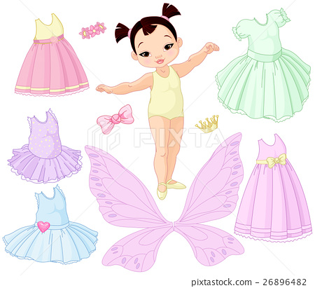 Baby Girl with Different Fairy 26896482
