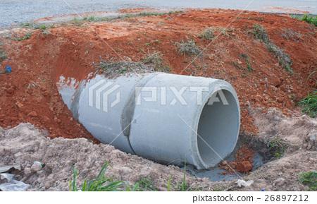 Concrete pipe 26897212