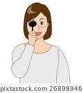 矢量 遠視眼 眼 26898946