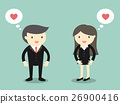 businessman businesswoman couple 26900416