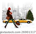 york, female, fashionable 26901317