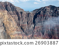 三宅島・雄山の噴火口 26903887