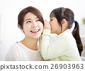 mother and daughter whispering gossip 26903963