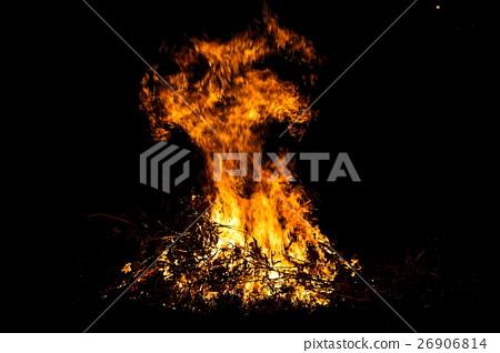 Blazing flame 26906814