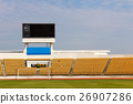 Stadium with scoreboard 26907286