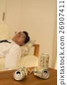 นักธุรกิจ,เบียร์,คน 26907411