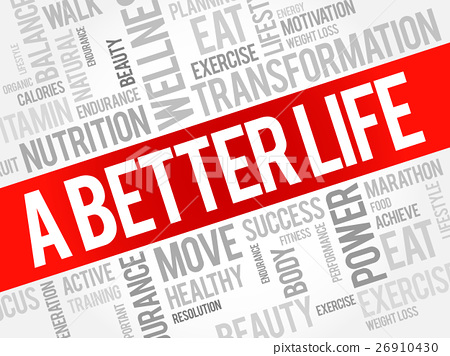 A Better Life word cloud 26910430