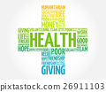 Health word cloud collage 26911103