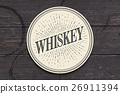 whiskey, whisky, coaster 26911394