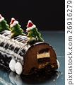 Chrismtas chocolate yule log 26916279