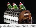 Chrismtas chocolate yule log 26916289