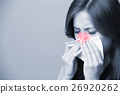 A Woman catches a cold 26920262