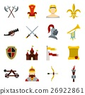 騎士 圖標 向量 26922861