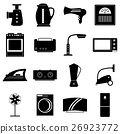 Household appliances icons set, simple style 26923772