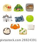 tottori prefecture, special product, vector 26924391