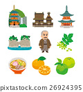 wakayama, special product, vector 26924395