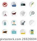 icons, vector, animal 26926694