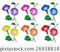 一組 花朵 花 26938818