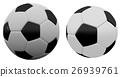 3d rendering soccer football on white background 26939761