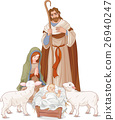 Nativity scene 26940247