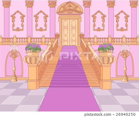 Luxury Staircase in Magic Palace 26940250