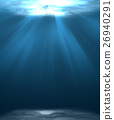 Ocean underwater. 26940291