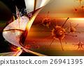 病毒 立體 透視 26941395
