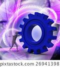 3d, man, gear 26941398