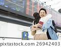 机场 夫妇 一对 26942403