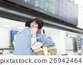 機場 夫婦 一對 26942464