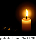 candle, vector, flame 26943291