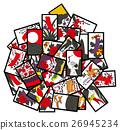 日本纸牌 图片卡 游戏 26945234
