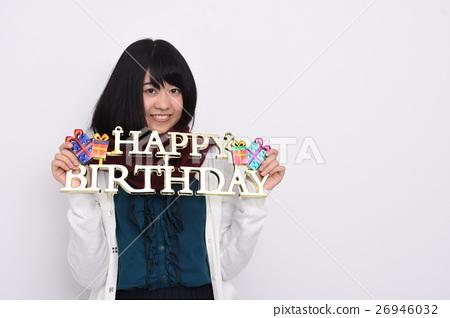 Congratulation! birthday 26946032