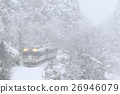tadami line, local line, snowy 26946079