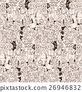 Seamless pattern of happy laughing people. 26946832